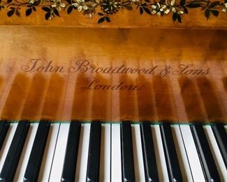 Broadwood and Sons grand piano with wonderful provenance, plays beautifully!