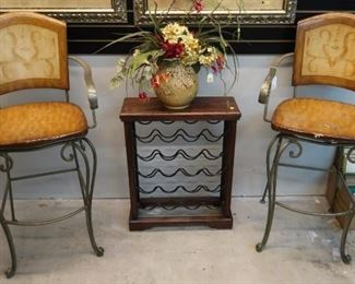Pair of barstools purchased from Louis Shanks