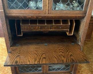 Antique Oak Secretary