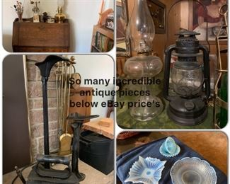 So many antique pieces priced way below eBay prices