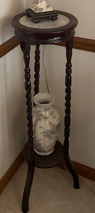 Table & Vase