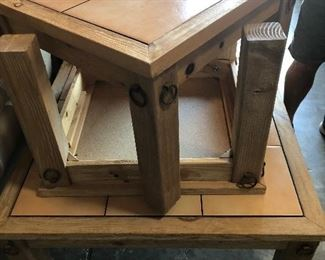 Coffee table and matching 2 end tables.  $249