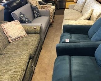 Tons of Sofas, Love Seats, and Recliners!