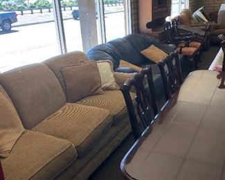 We have several sofa's, love seats, and recliners on sale!  Anywhere from $60-499!  Mid-century, Antique, Modern and other styles.  Stop by! M-Saturday 8-2.  13059 W Grand Ave # 12, Surprise, AZ 85374