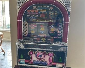 A. SOLD    momonga super miracle fantasy slot machine $325