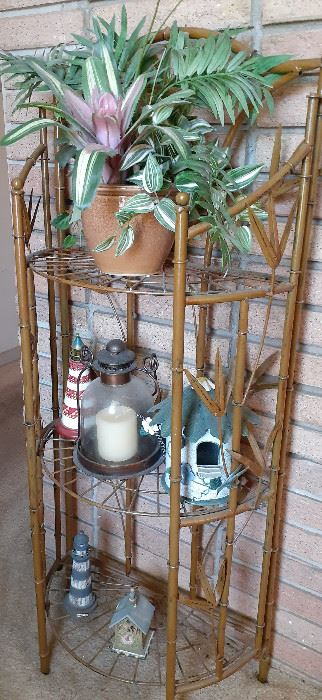 Bamboo Style Shelf