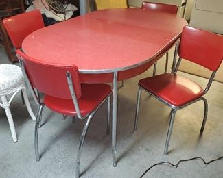 Retro Chrome table set (BEST Offer gets it)