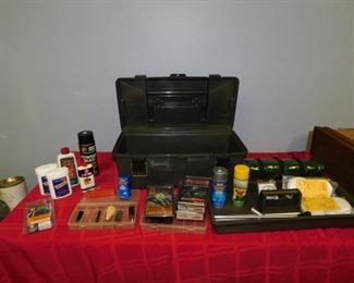 Lot of Gun Cleaning Supplies