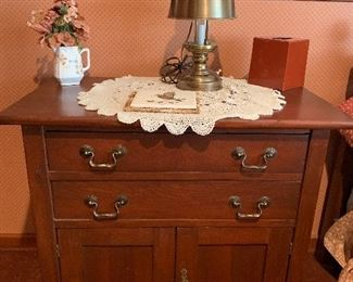 2 drawer commode