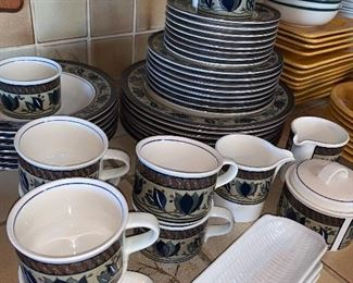 Set of dishes
