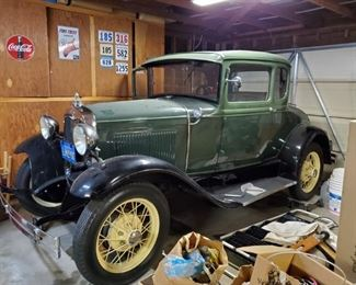 1930 Ford Model A, Completely Refurbished, windows roll down, she started right up! A Gem! Asking 20K OBO!