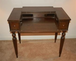"Beautiful antique office desk, 36"" H X 22"" D x 32""H"