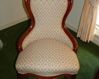 """Vintage parlor rocking chair, 26"""" W x 27"""" D x 37"""" H"""