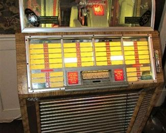 Seeburg Select-o-matic jukebox