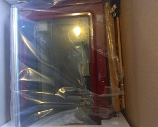 Kitchenaide convection and toaster oven.  New in the Box.  Red color.