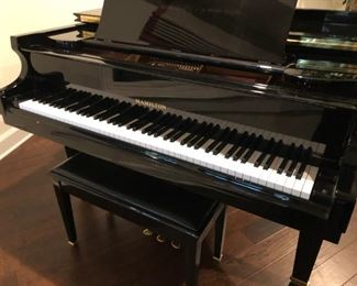 AVAILABLE FOR SALE NOW!!! Pristine Hamilton baby grand piano (manufactured by Baldwin Piano Co. division); purchased locally in 2008; original owners; regularly maintained; last tuned winter/2019; asking $6,000 OBO.