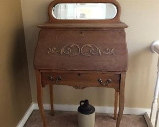 Antique writing desk -(picture not for sale)