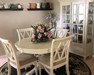Really loves this dining room set..not too big ..