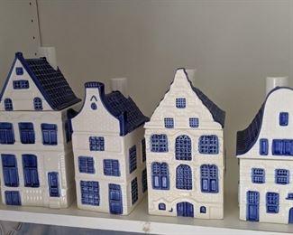 Delft Blue Canister Set