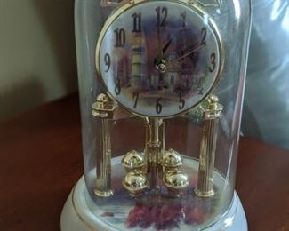 Thomas Kinkaide Anniversary Clock
