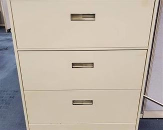 4 Drawer Steelcase Lateral File