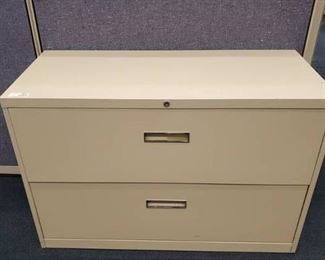 2 Drawer Steelcase Lateral File