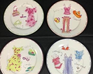 Girly Dessert Plates by Nordstrom
