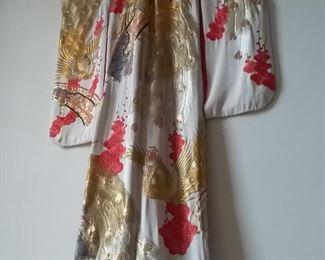 006 Authentic Japanese Wedding Kimono