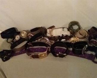 Assortment of Ladies Fashion Belts