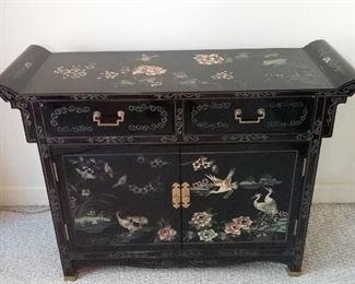 Beautiful Asian Cabinet