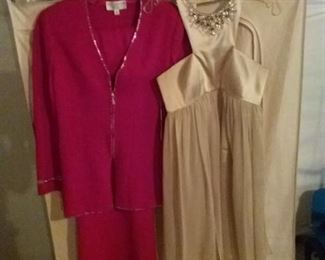 Elegant St John and Marc Bouwer Evening Wear