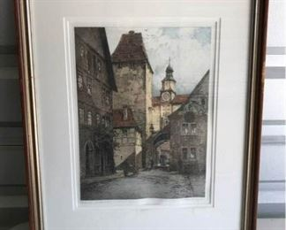 Rothenburg I.T. Roderator Print