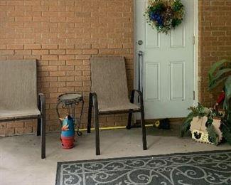 Patio furniture, outdoor patio rug