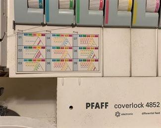 Pfaff coverlock 4852 serger sewing machine