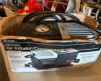 Air inflator/compressor