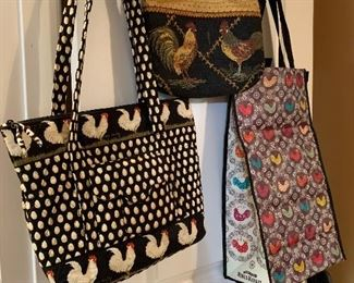 Ladies handbags - Etienne Aigner, Vera Bradeley, and many others