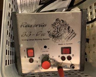 Razor tip SS pro 10 amp detail burning system