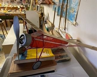 A workshop FULL of RC plane parts and raw materials.  Would like it to go ALL TOGETHER!  OFFERS being accepted for FULL LOT