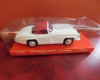 Vintage Hubley Mercedes-Benz in Original Packaging