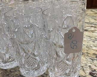 $50 for 18 glasses