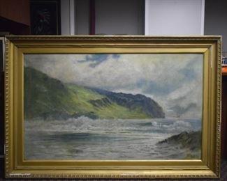 Paul Naftel Oil on Canvas