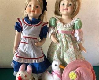 Franklin Heirloom Dolls  Carol Lawson