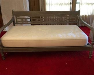 Dove Gray Wood Day Bed