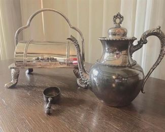 Silver Plated Service items