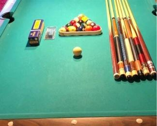 Fredrick Willys Pool Table