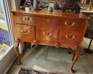 Pennsylvania Queen Anne Lowboy, now $375