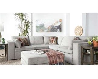 """Dayna 103.5"""" L-Shaped Sectional In Zealand Dune"""