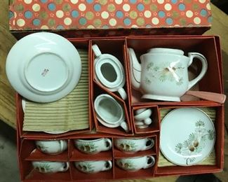 Child's tea set (Japan)  $15  To purchase, call ...