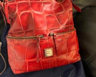 Dooney & Bourke handbag with dust cover - $140 or best offer