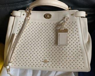 Coach handbag with dust cover - $75 or best offer